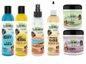 TALIAH WAAJID KIDS HAIR CARE PRODUCTS-KINKY-WAVY-NATURAL-HAIR-FREE UK TRACK POST