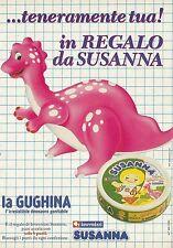 X2527 Formaggini SUSANNA - Invernizzi - Pubblicità 1991 - Advertising