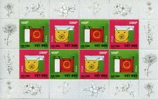 Vietnam 2019 MNH Year of Pig 8v M/S Chinese Lunar New Year Stamps