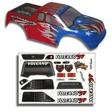 Redcat Racing 1/10 Truck Body Red, White, and Blue for Volcano Part #  88019RWB