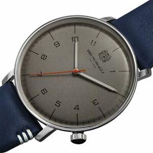 BRUNO MAGLIRoma Moderna Quartz Grey Dial Men's Watch 18.191165.SB
