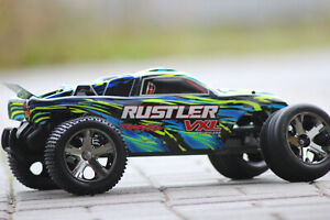 Traxxas 37076-4 Yellow 2 WD Rustler Vxl Bl 2,4GHz Brushless Stadium Truck 1:10