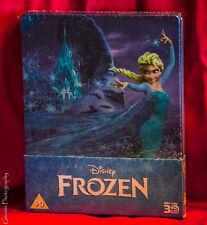New Disney Frozen Blu-ray 3D+2D Steelbook Zavvi Exclusive UK OOP