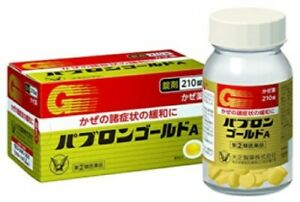 PABRON GOLD A 210 TABLETS From Japan High Quality!!