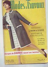 modes et travaux numero 783 - mars 1966 -