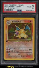 1999 Pokemon French 1st Edition Holo Dracaufeu Charizard #4 PSA 10 GEM MINT