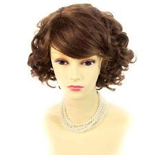 Wiwigs Short Curly Blonde Black Brown Red Summer Style Skin Top Ladies Wigs