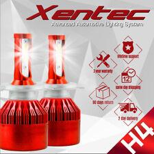 Pair H4 9003 HB2 980W 147000LM Car LED Headlight Bulbs Cree COB kit 6000K White