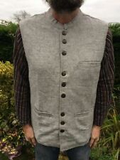Gilet da uomo grigie casual in cotone