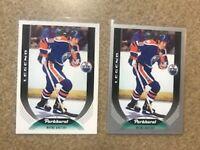 2020-21 Parkhurst LEGENDS SP LOT 2 #330 Wayne Gretzky Edmonton Oilers SILVER +