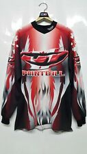 Vintage JT Paintball Jersey Canada Flag Style Team Long Sleeve T-Shirt Size M