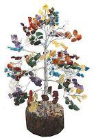 7 Chakra Stone Feng Shui Vastu Money Tree Reiki  Gems Spiritual  Table Decor
