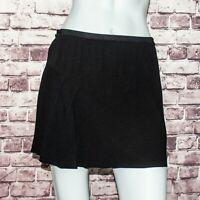 3651d31bb Isabel Marant Etoile Faded Black Coati Denim Ruffle Mini Skirt 36/US ...