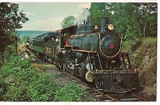 Wannamaker Kempton Southern Railroad Train Kempton Pennsylvania Postcard Pa