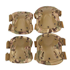 Rodilleras y coderas tacticas airsoft militares paintball multicam proteccion