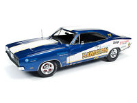 1:18 AUTO WORLD *HAWAIIAN* Butch Mass 1969 Dodge Charger R/T Pro Stock Drag NIB!