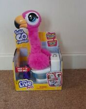 Brand new Little Live Pets Gotta Go Flamingo top Toy Christmas it talks poops