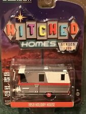 Greenlight  Hitched Homes Series 4  1959 Holiday House camper trailer