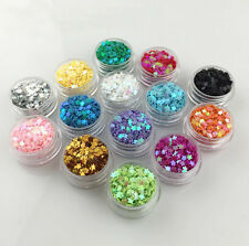 10/14 Boxes Flower Beads Sequins Jewelry Epoxy Resin Making Nail Art Decoration