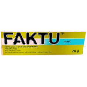FAKTU ointment 20g, Treatment Of Hemorroids