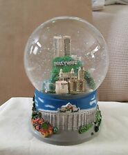 Hollywood Sign Musical Snow Globe, Pre - Owned 6' in Tallll