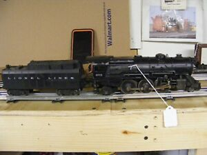 LIONEL 675 engine& whistle tender