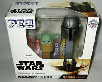 PEZ Star Wars Gift set  MANDALORIAN THE CHILD  Released 2020