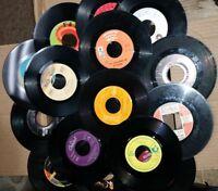 Lot of 100 45 rpm Vinyl Records
