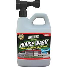 Moldex 56 Oz Instant Brick Wood Vinyl Siding Mildew Remover House Wash 7030
