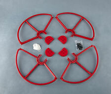 4x Red SNAP ON/OFF PROP GUARDS QUICK RELEASE DJI PHANTOM ALL VERSION