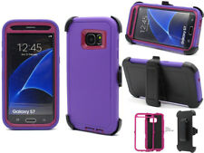 Samsung Galaxy S7 Case,3-in-1 Shockproof Hybrid Defender w/Clip Fit Otterbox PP