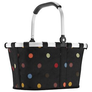Reisenthel carrybag XS dots Einkaufskorb Picknickkorb Henkelkorb Kinder Punkte