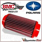 FM321/21 BMC FILTRE À AIR SPORTIF LAVABLE POLARIS SCRAMBLER 500 4X4 1997-