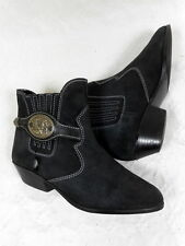 Bottines cowboy santiags western botas stivali stiefelletten cuir leather 37