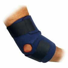 Trainer's Choice Compression Elbow Wrap, Blue, One Size
