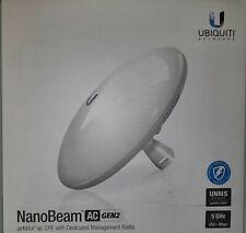 Ubiquiti Networks NanoBeam ac Gen2 airMAX ac CPE with Dedicated Management Radio