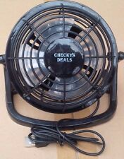 CHECKYS DEALS MINI USB POWERED DESK FAN PLASTIC 4 INCHES