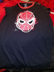 Juniors Spiderman Sleep Shirt