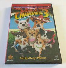 "Beverly Hills Chihuahua 3: Viva La Fiesta! (Blu-ray/DVD, 2012, 2-Disc Set) ""NEW"""