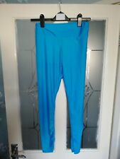 Women's Boohoo Disco Pants / Leggings High Waisted Size 12 New With Tags