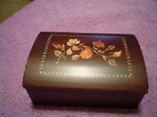 "5"" WOOD HINGED JEWELRY BOX [Kitchen]"