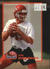 1993 Power Moves Kansas City Chiefs Football Cards #PM10 Joe Montana