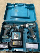 Makita DHP458 18V Combi Drill With DTD152 Impact Driver Twin Pack SP2860