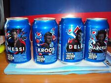 Pepsi UEFA Champions League 2018 set of 4 cans from Russia Bottom outdoor