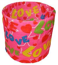 Hot Pink Rainbow Love Tubular Multi Function Headwear Balaclava Beanie Cap Scarf