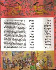 ILLUMINATED Megillah PARCHMENT BEZALEL ESTHER SCROLL ZEV RABAN Jewish Art Purim