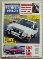 FORD HERITAGE Car Magazine Feb/March 1997 Shelby Mustang  RS1600i