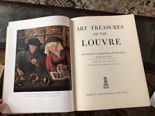 Art Treasures Of The Louvre~1951~Rene Huyghe~large Fine Art Book