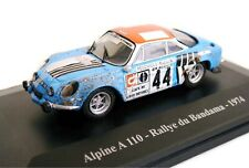 1/43 - ELIGOR -RENAULT ALPINE A 110 - RALLYE DU BANDAMA COTE D'IVOIRE - 1974