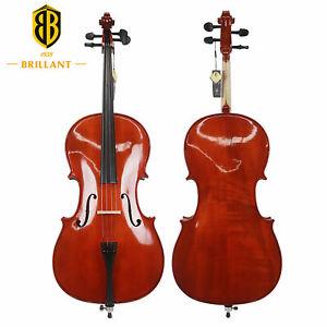Brillant Cello Half 1/2 Size Comes with Bag, Bow and Rosin Premium Student Cello